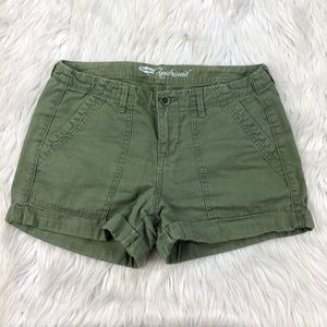 Old Navy Green Boyfriend Shorts